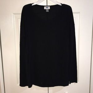 Long sleeve black shirt